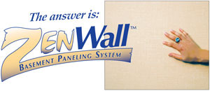 Paneling For Basement Interesting Zenwall  Basement Wall Paneling System  Basement Doctor Northwest Decorating Inspiration