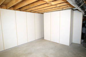 ZenWall Paneling Installed in Basement