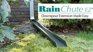 RainChute EZ® downspout extension