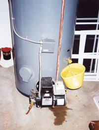 Water Tank Leaking