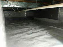 Cleanspace Installed in Crawl Space