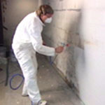 The Basement Doctor Epoxy eliminates mold