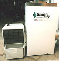 sanidry dehumidifiers basement and crawl space moisture control