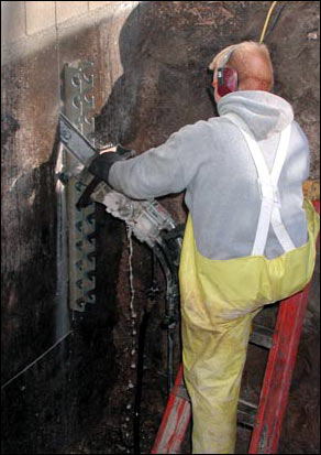 cutting an egress window