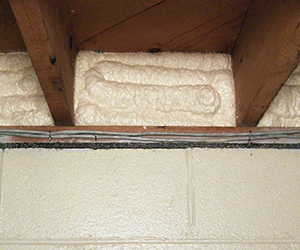 Spray Foam Insulation Basement And Crawl Space Insulation
