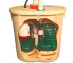 TripleSafe Sump Pump Two Sump Pumps with Battery Back-up